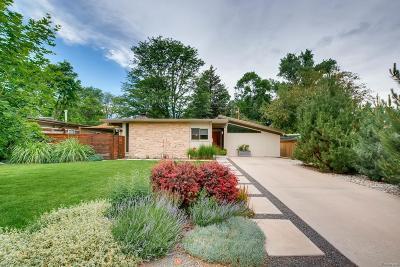 Denver Single Family Home Active: 1347 South Fairfax Street