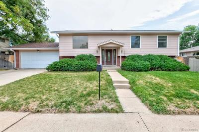 Arvada Single Family Home Active: 5818 Routt Street