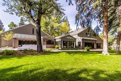 Denver Single Family Home Under Contract: 32 Polo Club Circle