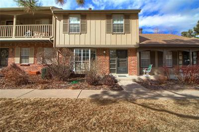 Denver Condo/Townhouse Under Contract: 8612 East Amherst Drive #B