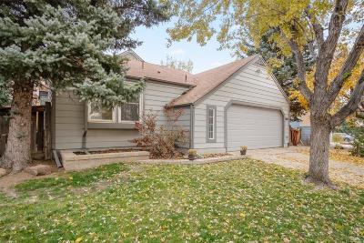 Littleton Single Family Home Under Contract: 9647 West Elmhurst Place