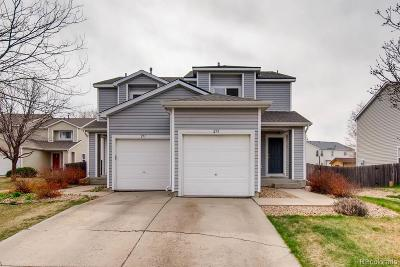 Fort Lupton Condo/Townhouse Active: 275 Ponderosa Place