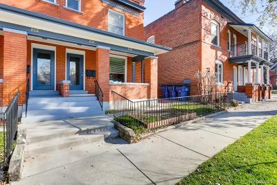 Denver Condo/Townhouse Under Contract: 2308 North Ogden Street