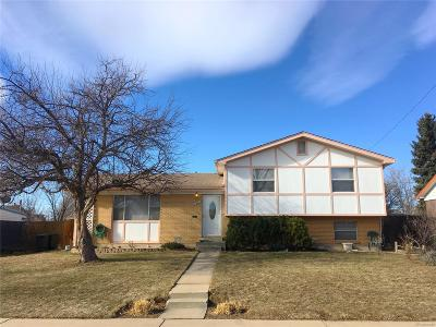 Northglenn Single Family Home Under Contract: 11501 Gilpin Street