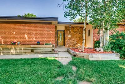 Wheat Ridge Single Family Home Under Contract: 3091 Lamar Street