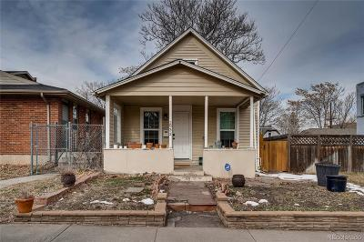 Denver Single Family Home Active: 2933 North Lafayette Street