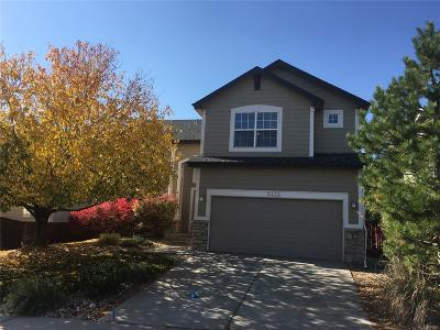 Highlands Ranch Single Family Home Active: 3472 Foxridge Trail