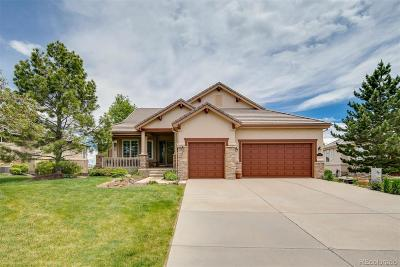Castle Pines Single Family Home Active: 6726 Vista Lodge Loop
