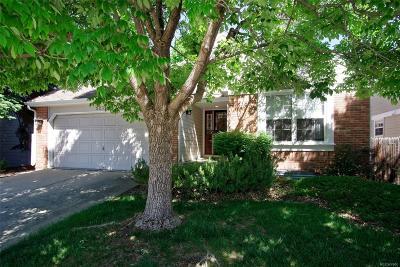 Littleton Single Family Home Active: 5231 South Cody Street