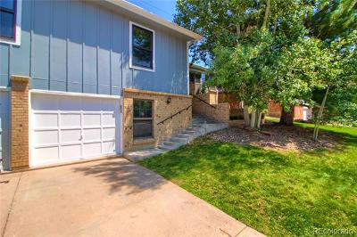 Denver Single Family Home Active: 3010 South Roslyn Street