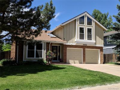 Littleton Single Family Home Active: 2493 West Long Circle