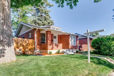Denver Single Family Home Under Contract: 2337 South Lincoln Street