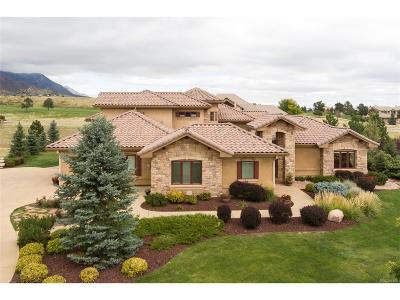Colorado Springs Single Family Home Active: 3836 Camelrock View