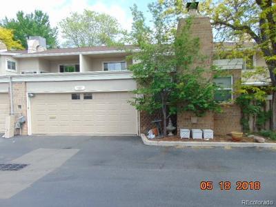 Denver Condo/Townhouse Active: 3265 South Pontiac Street