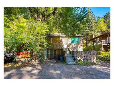 Boulder Single Family Home Active: 124 Canon