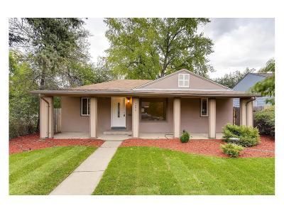 Denver Single Family Home Active: 1274 Verbena Street