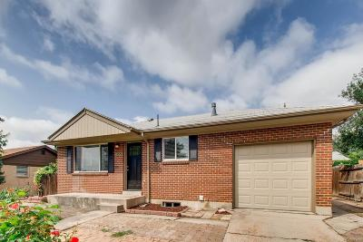 Northglenn Single Family Home Active: 11329 Irma Drive