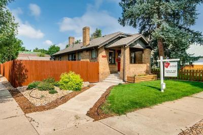 Denver Single Family Home Active: 4001 Alcott Street