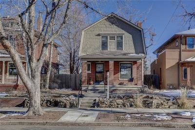 Denver Single Family Home Active: 1048 Milwaukee Street