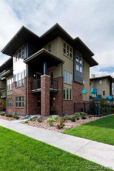 Denver CO Condo/Townhouse Active: $654,000
