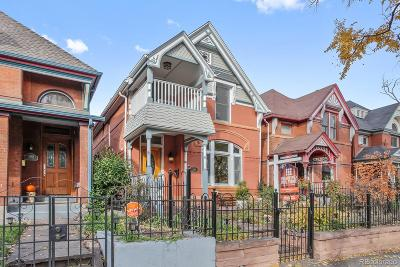 Denver Single Family Home Under Contract: 3349 Bryant Street