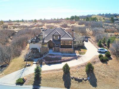 Castle Pines CO Single Family Home Under Contract: $1,400,000