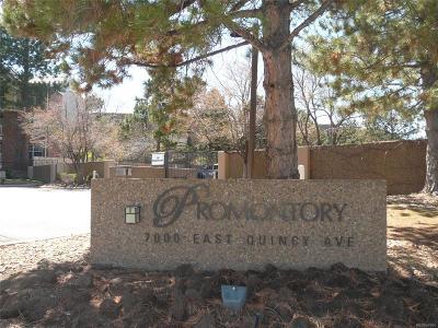 Denver Condo/Townhouse Active: 7000 East Quincy Avenue #305
