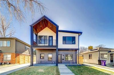 Denver Single Family Home Active: 3730 West Alice Place