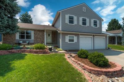 Centennial Single Family Home Under Contract: 4834 East Costilla Avenue