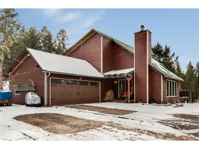 Conifer Single Family Home Under Contract: 12237 Powhatan Trail