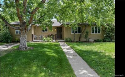 Denver Single Family Home Active: 1570 South Garfield Street