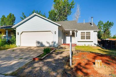 Aurora Single Family Home Under Contract: 1423 South Cathay Street