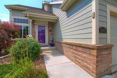 Longmont Single Family Home Under Contract: 5605 Mount Sanitas Avenue