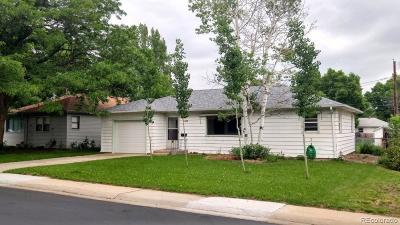 Longmont Single Family Home Under Contract: 1428 Sharpe Place
