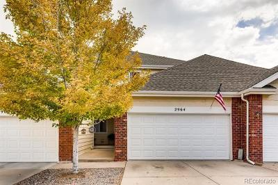 Castle Rock CO Condo/Townhouse Active: $359,900