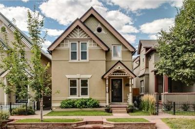 Denver Single Family Home Active: 924 East 22nd Avenue