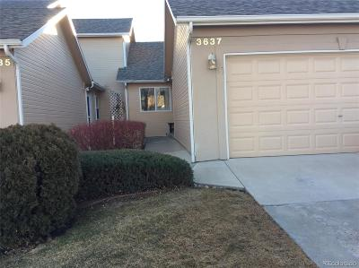 Loveland Condo/Townhouse Active: 3637 Wild Horse Court