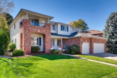 Highlands Ranch Single Family Home Under Contract: 9836 Glenstone Trail