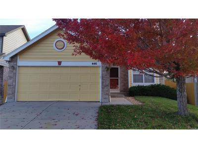 Northglenn Single Family Home Active: 446 West 116th Place
