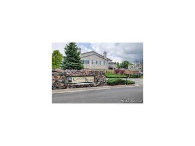 Highlands Ranch Condo/Townhouse Sold: 8365 Pebble Creek Way #101