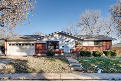 Arvada Single Family Home Active: 6486 Lee Street