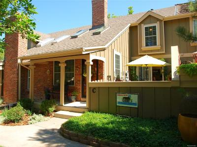 Littleton Condo/Townhouse Under Contract: 7731 South Curtice Drive #C
