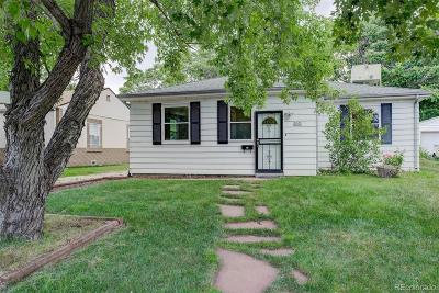 Denver Single Family Home Under Contract: 2061 South King Street