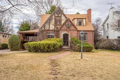Denver CO Single Family Home Active: $599,000