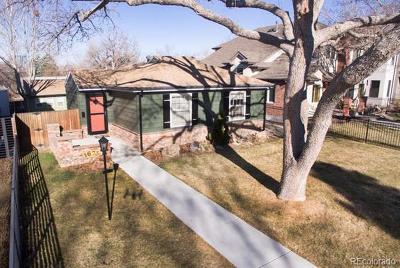 Denver CO Single Family Home Active: $650,000
