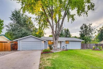 Broomfield Single Family Home Under Contract: 13111 Irving Court
