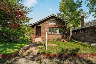 Denver Single Family Home Active: 827 Jackson Street