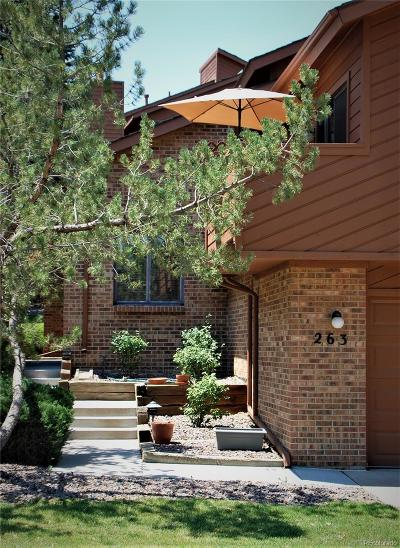 Lakewood Condo/Townhouse Under Contract: 263 Yank Court