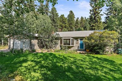 Conifer, Evergreen Single Family Home Active: 1020 Beaver Brook Canyon Road