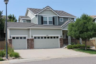 Highlands Ranch Single Family Home Active: 11053 Meadowvale Circle